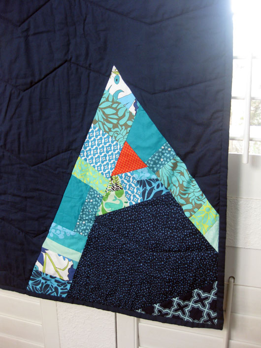 Axel's Quilt Front Detail